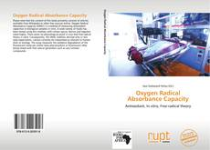 Couverture de Oxygen Radical Absorbance Capacity