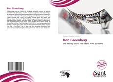 Ron Greenberg kitap kapağı