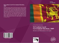 Buchcover von Sri Lankan Local Government Elections, 2009