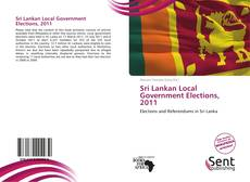 Buchcover von Sri Lankan Local Government Elections, 2011