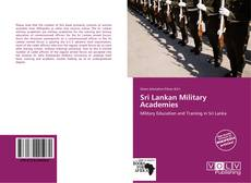 Bookcover of Sri Lankan Military Academies