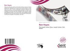 Portada del libro de Ron Hayes