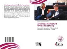 Portada del libro de Arbeitsgemeinschaft Online Forschung