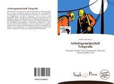 Bookcover of Arbeitsgemeinschaft Telegrafie