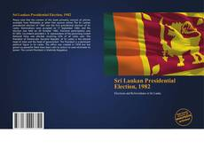 Обложка Sri Lankan Presidential Election, 1982