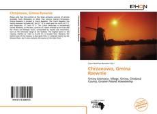 Bookcover of Chrzanowo, Gmina Rzewnie