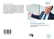 Portada del libro de Arbeitsbeschaffung