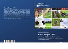 Bookcover of Uzbek League 2007