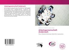 Arbeitsgemeinschaft Andernach kitap kapağı