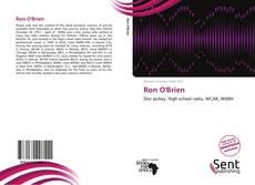 Обложка Ron O'Brien