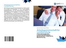Arbeitsgemeinschaft für Landberatung kitap kapağı