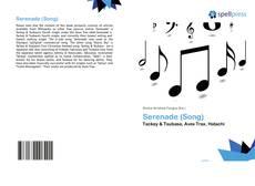 Serenade (Song) kitap kapağı
