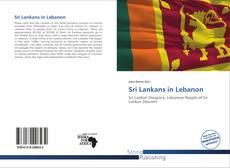 Borítókép a  Sri Lankans in Lebanon - hoz