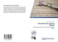 Serenade for Strings (Elgar) kitap kapağı