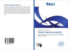Bookcover of Peter Davison (poet)