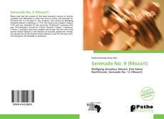 Serenade No. 9 (Mozart) kitap kapağı