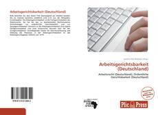 Bookcover of Arbeitsgerichtsbarkeit (Deutschland)