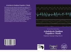 Portada del libro de Arbeitskreis Studium Populärer Musik