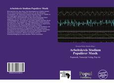 Capa do livro de Arbeitskreis Studium Populärer Musik