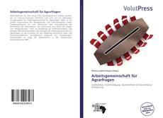 Arbeitsgemeinschaft für Agrarfragen kitap kapağı