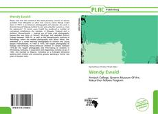 Portada del libro de Wendy Ewald