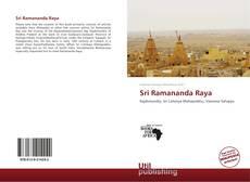 Sri Ramananda Raya的封面