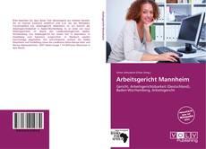 Bookcover of Arbeitsgericht Mannheim