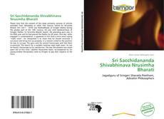 Capa do livro de Sri Sacchidananda Shivabhinava Nrusimha Bharati