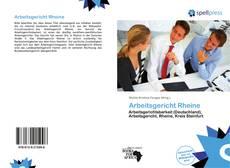 Bookcover of Arbeitsgericht Rheine