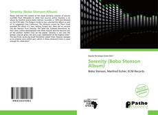 Bookcover of Serenity (Bobo Stenson Album)