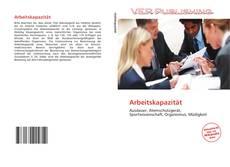 Portada del libro de Arbeitskapazität