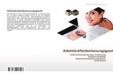 Capa do livro de Arbeitskräfteüberlassungsgesetz