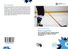 Bookcover of Ron Lapointe