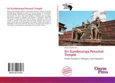 Couverture de Sri Sunderaraja Perumal Temple