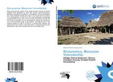 Portada del libro de Brzozowica, Masovian Voivodeship