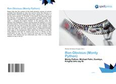 Bookcover of Ron Obvious (Monty Python)