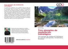 Portada del libro de Tres ejemplos de modelación hidrológica
