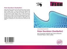 Bookcover of Peter Davidson (footballer)