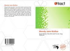 Portada del libro de Wendy Jane Walker