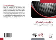 Portada del libro de Wendy Lowenstein