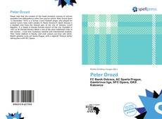 Bookcover of Peter Drozd
