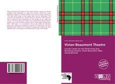 Bookcover of Vivian Beaumont Theatre
