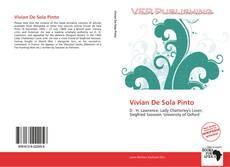 Обложка Vivian De Sola Pinto