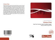 Capa do livro de Vivian Fine