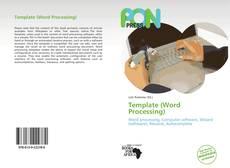 Template (Word Processing) kitap kapağı