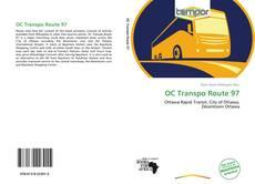 Bookcover of OC Transpo Route 97