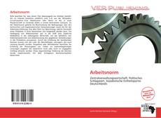 Bookcover of Arbeitsnorm