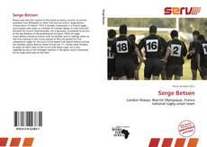Capa do livro de Serge Betsen
