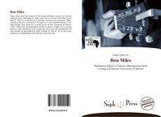Bookcover of Ron Miles