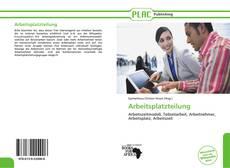 Arbeitsplatzteilung kitap kapağı